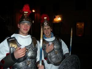 Natale a Volpiano Presepe cittadino - che centurioni!