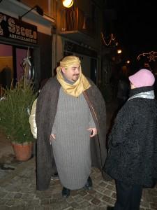 Natale a Volpiano Presepe cittadino  Don Luca