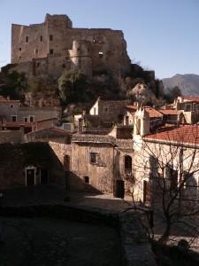 Castelvecchio di Rocca Barbena La piazzetta