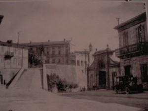 Portacomaro in una stampa dei primi del Novecento