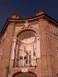 Castell'Alfero Particolare della facciata del Castello