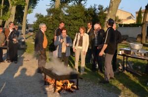 """Accoglienza all'arrivo a Castries con """"brassucade"""""""