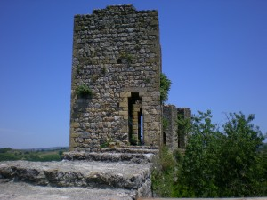 Monteriggioni Le torri