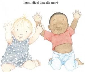 """Dal libro """" Dieci dita alle mani, dieci dita ai piedi"""""""