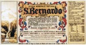 Etichetta storica San Bernardo