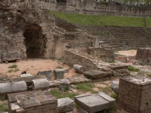 Trieste Teatro romano - paricolare